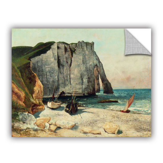 Brushstone The Cliffs Of Etretat The Port Of Avale1869 Removable Wall Decal
