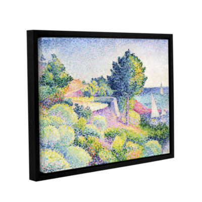 Brushstone La Routes Sur La Cote  1907 Gallery Wrapped Floater-Framed Canvas Wall Art