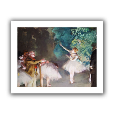 Brushstone Ballet Rehearsal Canvas Wall Art