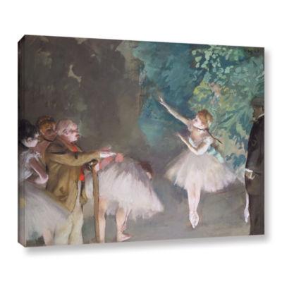 Brushstone Ballet Rehearsal Gallery Wrapped CanvasWall Art