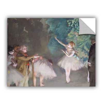 Brushstone Ballet Rehearsal Removable Wall Decal