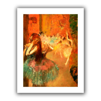 Brushstone Ballet Scene Canvas Wall Art