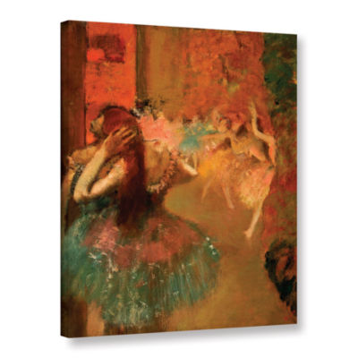 Brushstone Ballet Scene Gallery Wrapped Canvas Wall Art