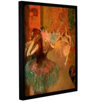 Brushstone Ballet Scene Gallery Wrapped Floater-Framed Canvas Wall Art