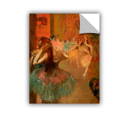 Brushstone Ballet Scene Removable Wall Decal