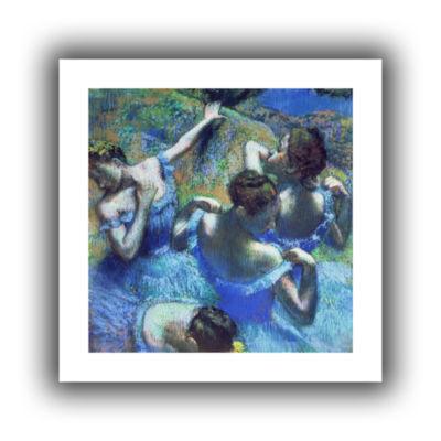 Brushstone Blue Dancers Canvas Wall Art