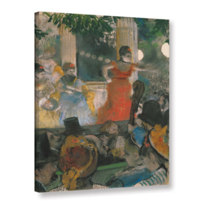 Brushstone Café Concert at Les Ambassadeurs Gallery Wrapped Canvas Wall Art