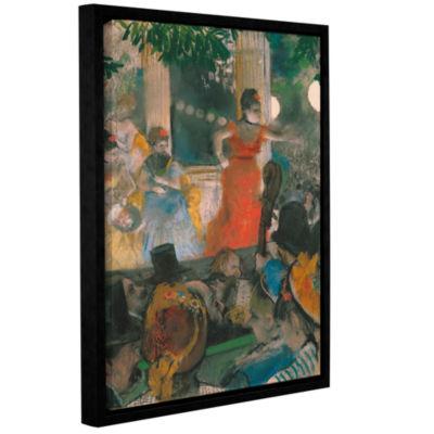 Brushstone Café Concert at Les Ambassadeurs Gallery Wrapped Floater-Framed Canvas Wall Art