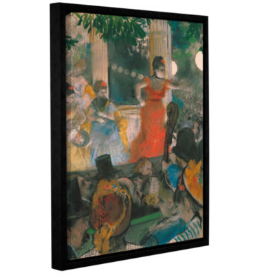 Brushstone Café Concert at Les Ambassadeurs Gallery Wrapped Floater-Framed Canvas Wall Art