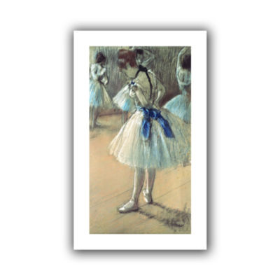 Brushstone Dancer Canvas Wall Art