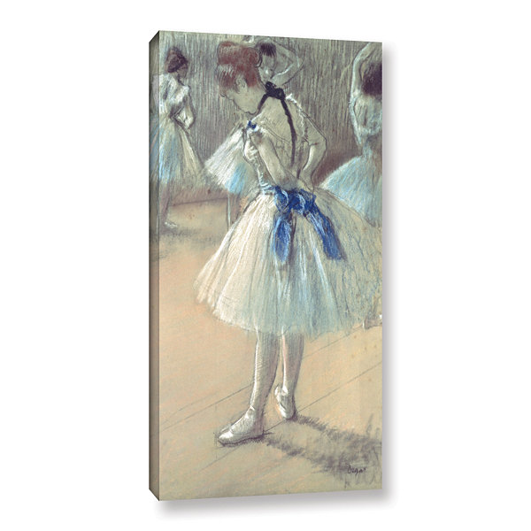 Brushstone Dancer Gallery Wrapped Canvas Wall Art