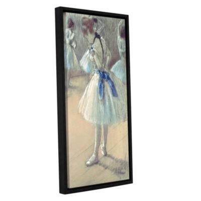 Brushstone Dancer Gallery Wrapped Floater-Framed Canvas Wall Art