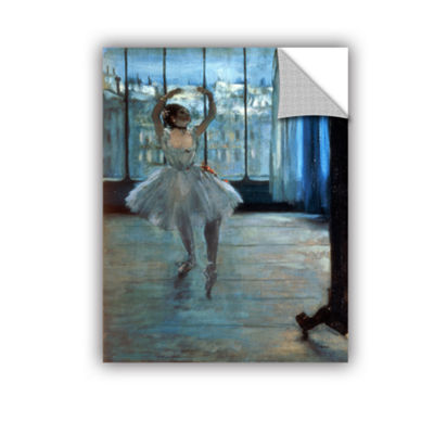 Brushstone Dancer in Front of Window Removable Wall Decal