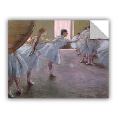 Brushstone Dancers at Rehearsal Removable Wall Decal
