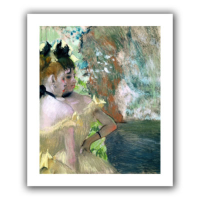 Brushstone Dancers in The Wings Canvas Wall Art