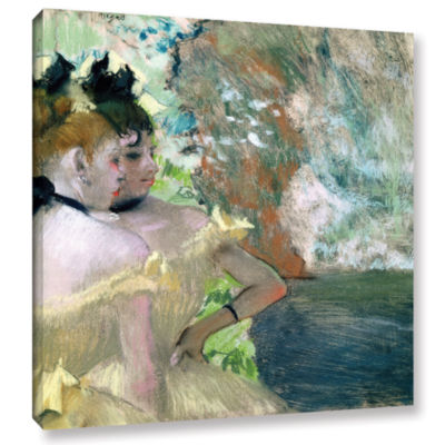 Brushstone Dancers in The Wings Gallery Wrapped Canvas Wall Art
