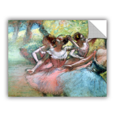 Brushstone Four Ballerinas on The Stage RemovableWall Decal