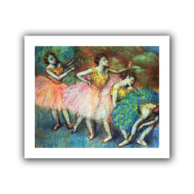 Brushstone Four Dancers Canvas Wall Art