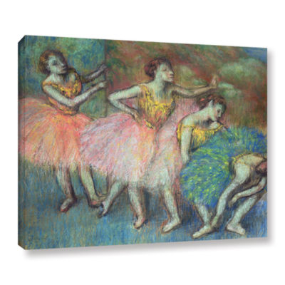 Brushstone Four Dancers Gallery Wrapped Canvas Wall Art