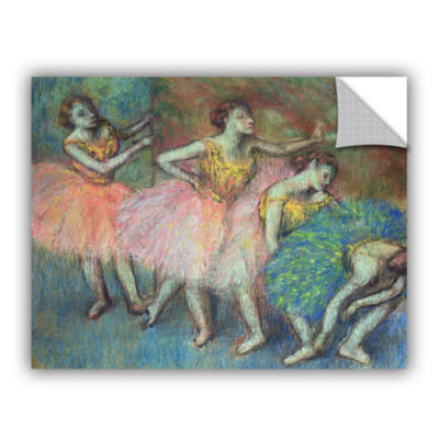Brushstone Four Dancers Removable Wall Decal