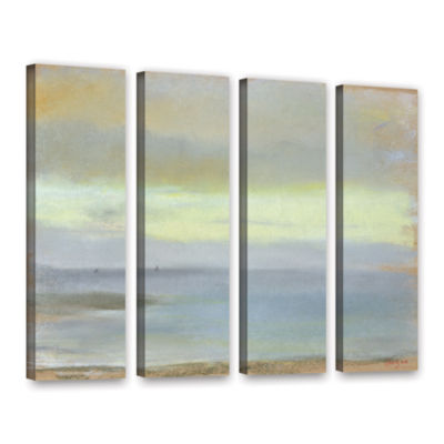 Brushstone Marine Sunset 4-pc. Gallery Wrapped Canvas Wall Art