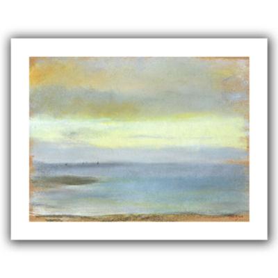 Brushstone Marine Sunset Canvas Wall Art