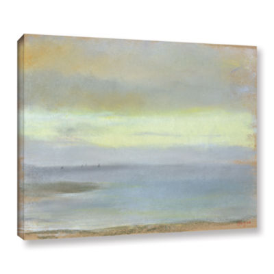 Brushstone Marine Sunset Gallery Wrapped Canvas Wall Art