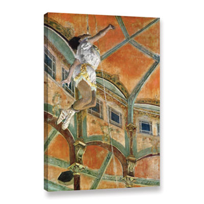 Brushstone Miss La la at The Cirque Fernando Gallery Wrapped Canvas Wall Art