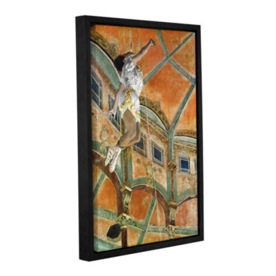 Brushstone Miss La la at The Cirque Fernando Gallery Wrapped Floater-Framed Canvas Wall Art