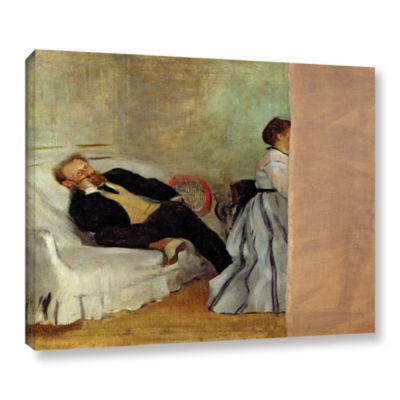 Brushstone Monsieur and Madame Edouard Manet Gallery Wrapped Canvas Wall Art