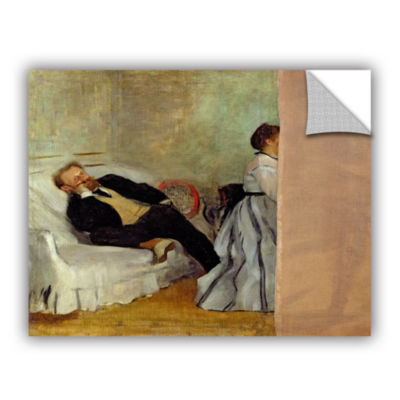 Brushstone Monsieur and Madame Edouard Manet Removable Wall Decal