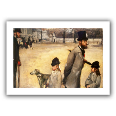 Brushstone Place de la Concorde Canvas Wall Art