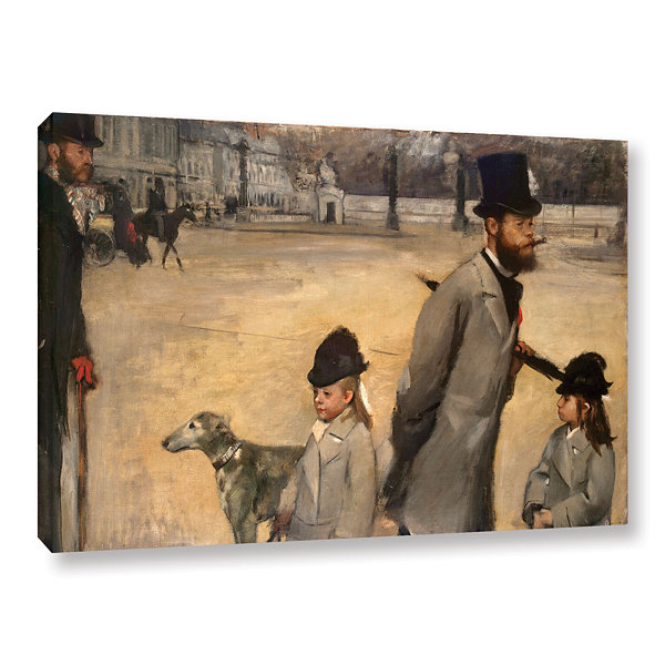Brushstone Place de la Concorde Gallery Wrapped Canvas Wall Art