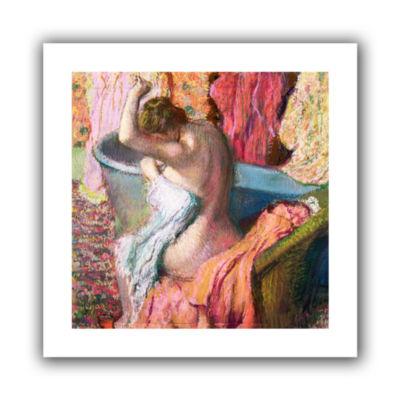 Brushstone Seated BaTher Canvas Wall Art