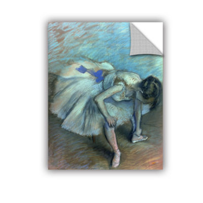 Brushstone Seated Dancer Removable Wall Decal