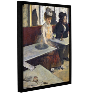 Brushstone The AbsinThe Gallery Wrapped Floater-Framed Canvas Wall Art