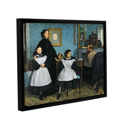 Brushstone The Bellelli Family Gallery Wrapped Floater-Framed Canvas Wall Art