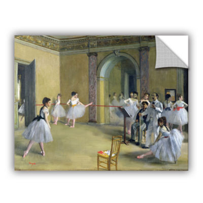 Brushstone The Dance Foyer at The Opera on The RueLe Peletier Removable Wall Decal