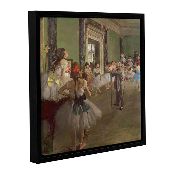 Brushstone The Dancing Class Gallery Wrapped Floater-Framed Canvas Wall Art