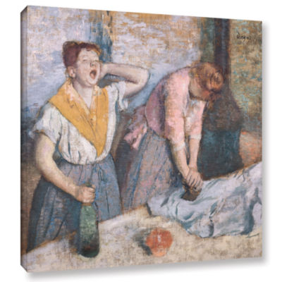 Brushstone The Laundresses Gallery Wrapped CanvasWall Art
