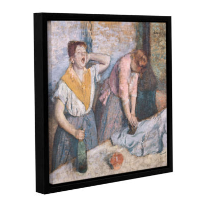 Brushstone The Laundresses Gallery Wrapped Floater-Framed Canvas Wall Art