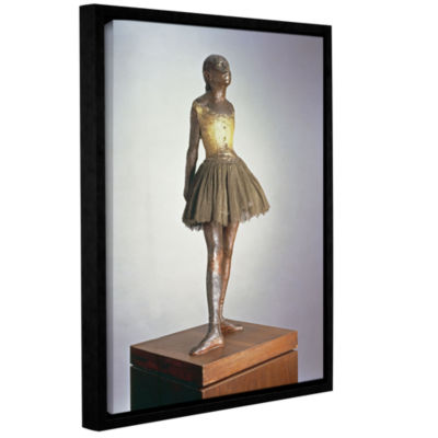 Brushstone The Little Dancer Gallery Wrapped Floater-Framed Canvas Wall Art