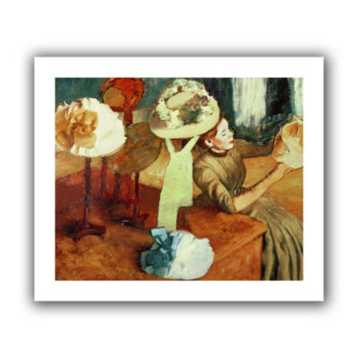 Brushstone The Millinery Shop Canvas Wall Art