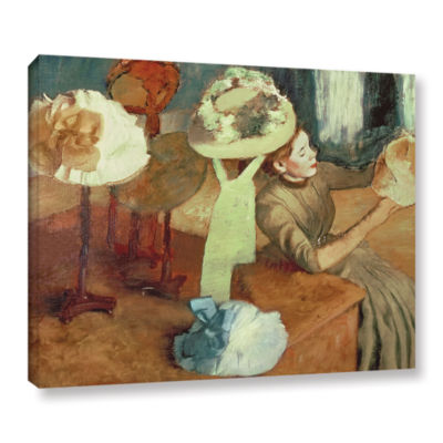 Brushstone The Millinery Shop Gallery Wrapped Canvas Wall Art