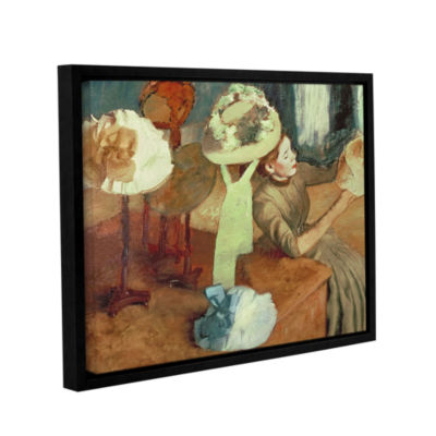 Brushstone The Millinery Shop Gallery Wrapped Floater-Framed Canvas Wall Art