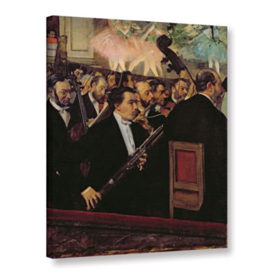 Brushstone The Opera Orchestra Gallery Wrapped Canvas Wall Art