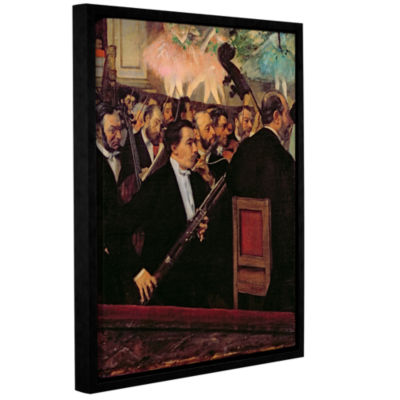 Brushstone The Opera Orchestra Gallery Wrapped Floater-Framed Canvas Wall Art