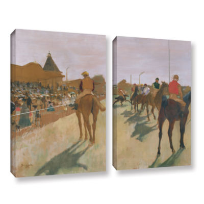 Brushstone The Parade 2-pc. Gallery Wrapped CanvasWall Art