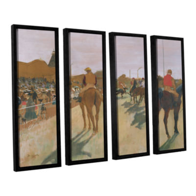 Brushstone The Parade 4-pc. Floater Framed CanvasWall Art