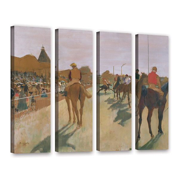 Brushstone The Parade 4-pc. Gallery Wrapped CanvasWall Art